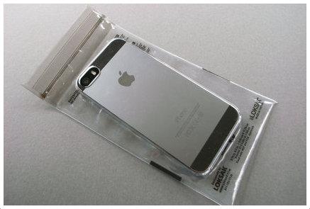 iPhone 5sとケースとLOKSAK