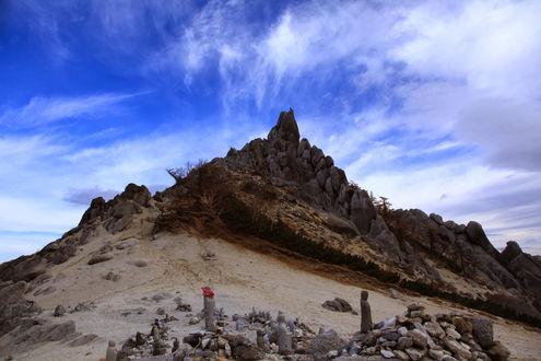 鳳凰山・地蔵岳オベリスク