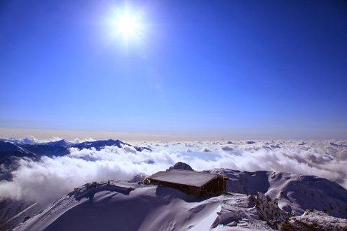 立山 雄山山頂からのパノラマ