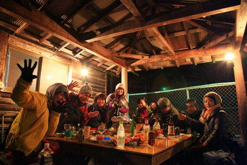 燻製キャンプ2013 at 篠沢大滝キャンプ場