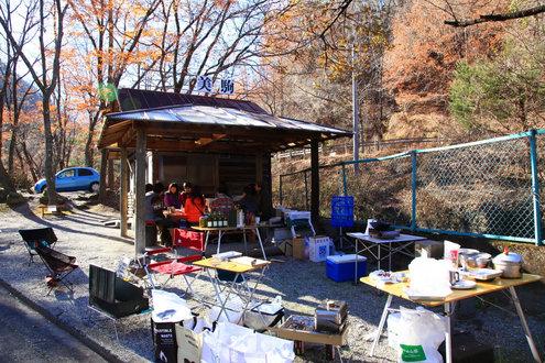 篠沢大滝キャンプ場 美駒ハウス