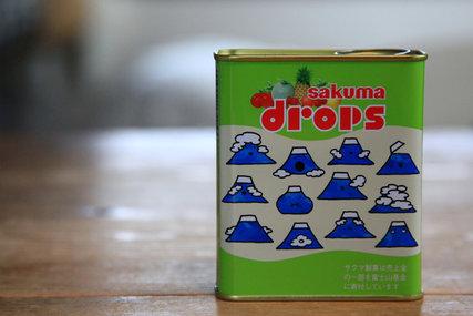 サクマ富士山缶ドロップス