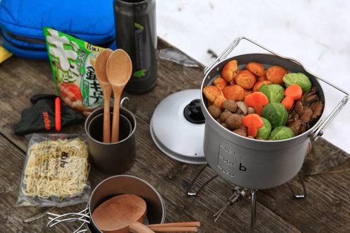 丸鍋できのこ鍋