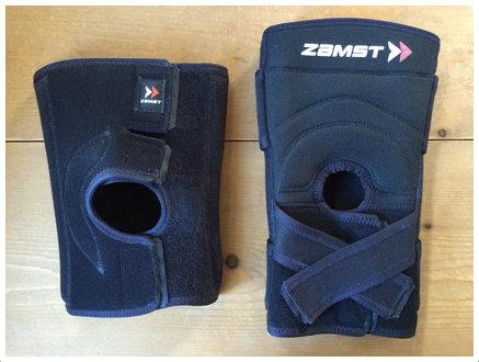 ザムスト膝サポーター ZK-7とMK-3