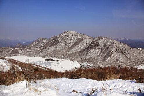 黒檜山と駒ヶ岳と大沼