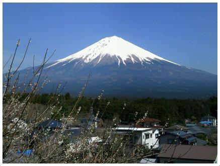 20140407の富士山