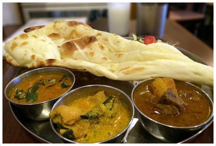 Andhra KitchenのBセットランチ1090円