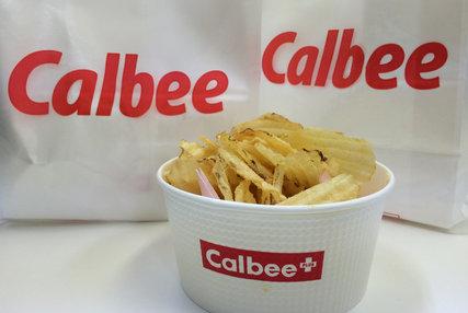 カルビー揚げたてポテトチップス