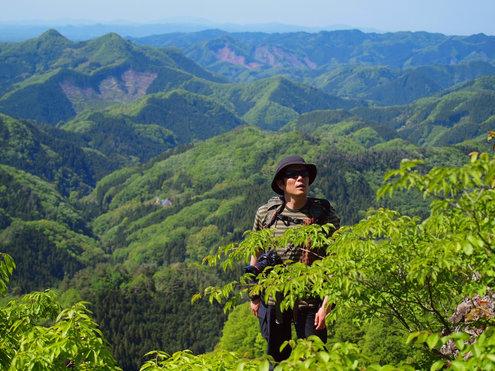 奥久慈男体山山頂手前