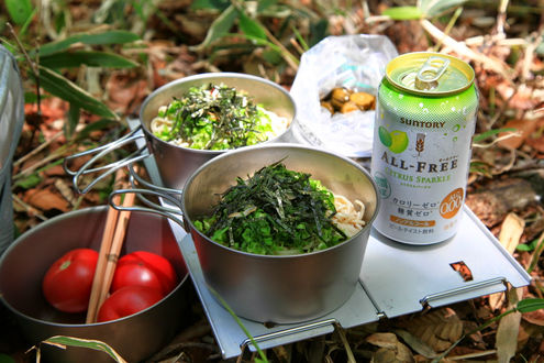 昼めし(流水麺)