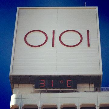 上野丸井の8時の気温