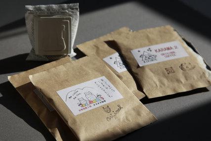 駒の小屋とからまつのオリジナルコーヒー