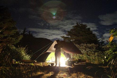 浄土平キャンプ場 A1サイト