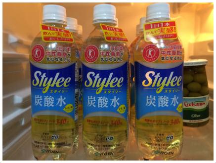 スタイリー 炭酸水 レモン味