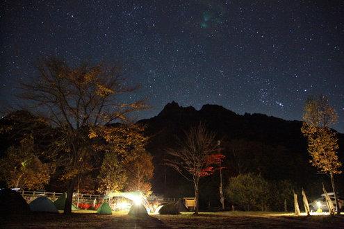 みずがき山自然公園(夜)