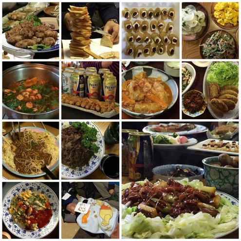 静岡忘年会2014 料理サムネイル