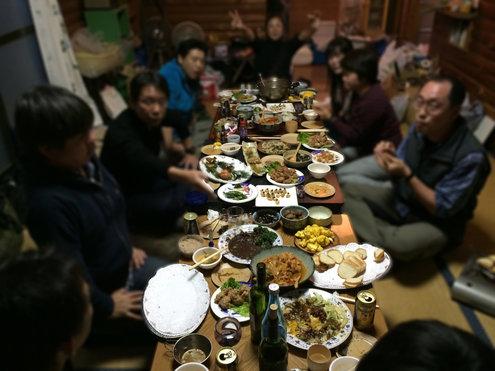 静岡忘年会2014 宴会室