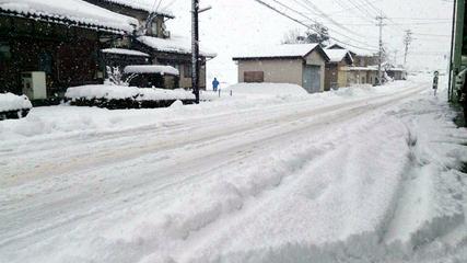 今日の福井県大野市