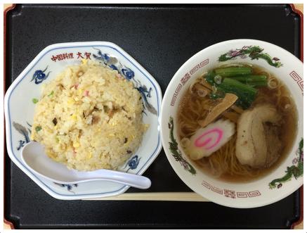 炒飯&醤油ラーメン