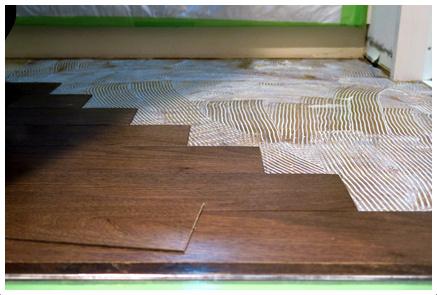 天然木突板複合フローリング