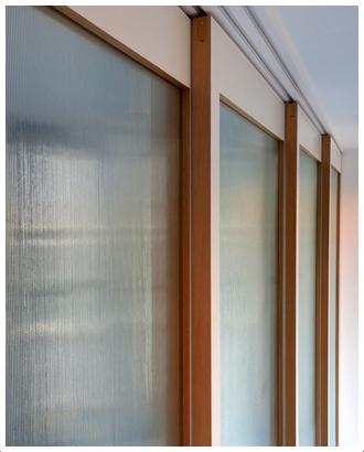 ガラスの建具