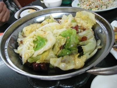 アモイ2日目夕飯