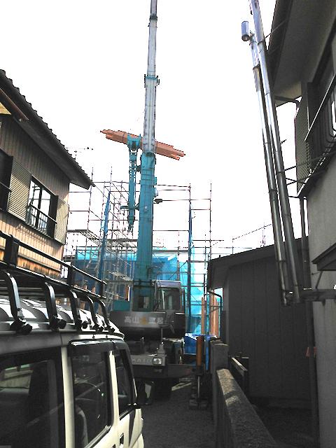 沼田市某寺庫裡新築工事