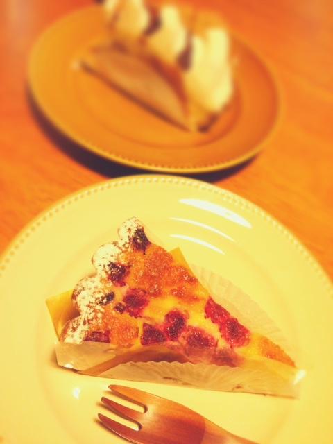 フランボワーズケーキ