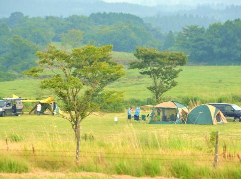 久住 キャンプ