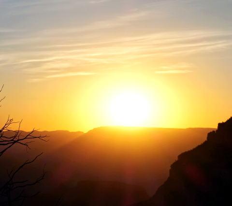 グランドキャニオン朝陽