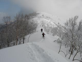 飯縄山山頂190128