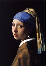 青いターバンの少女191208
