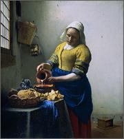 牛乳を注ぐ女191208