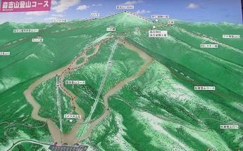 森吉山地図201011