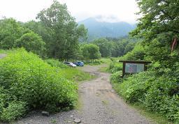 シュナイダーコース登山口220715