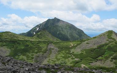 天狗のコルからニペソツ山220716