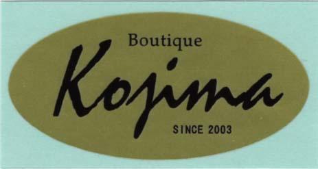 シール見本2『Kojima』