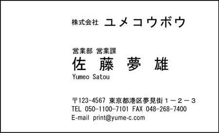 ビジネス名刺-AA-1-3