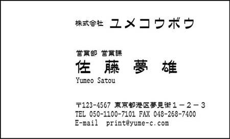 ビジネス名刺-AA-1-9