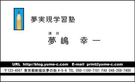ビジネス名刺 ロゴ入り BS-20