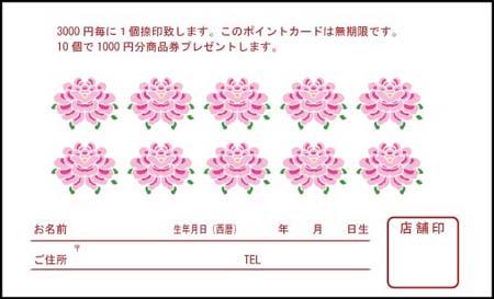 ポイントカード PCU-05