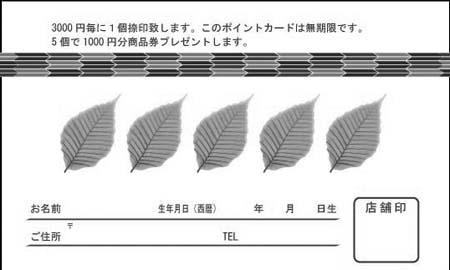 ポイントカード PCU-10