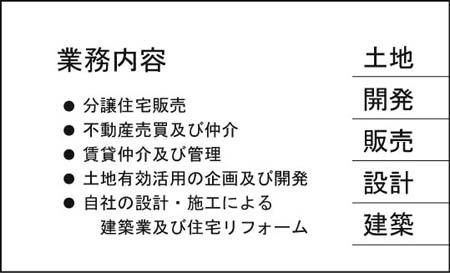 名刺裏面 UR-15