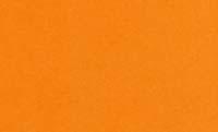 オレンジ名刺台紙