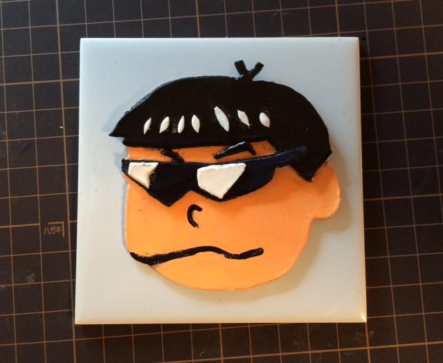 紙粘土 おそ松さん カラ松1