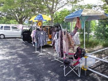 2011年7月夏の外販風景。とても暑い日でした