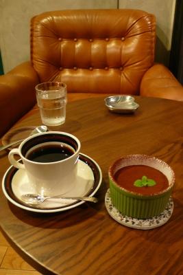 コーヒーとティラミス