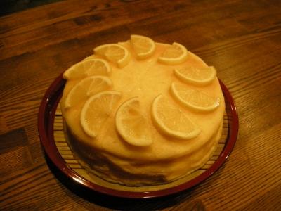 レモンのスフレ