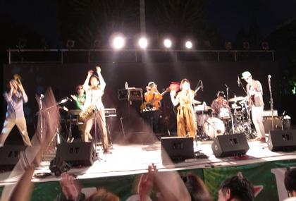 EGO-WRAPPIN @ 茨木音楽祭