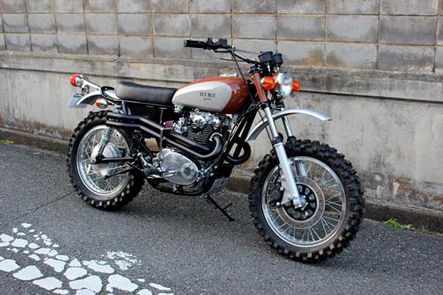 YAMAHA XS650 Scrambler☆ | Wedge Motorcycle BLOG